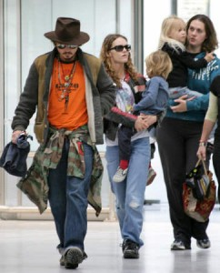 Johnny Depp's kids